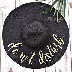 Do Not Disturb Floppy Hat