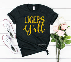 Tigers Y'all Shirt