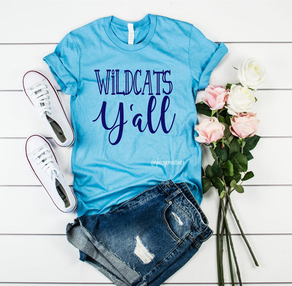 Wildcats Y'all Shirt