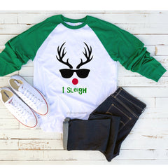 I Sleigh Christmas Raglan** (duplicate for toddler)