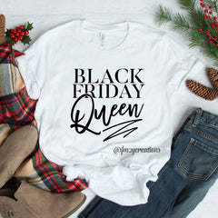 Black Friday Queen Shirt