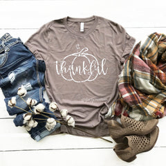 Thankful Pumpkin Shirt