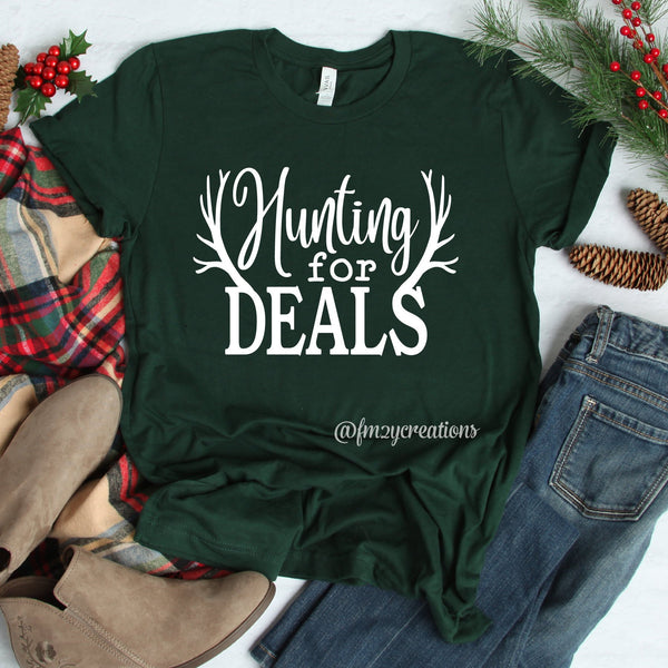 Hunting For Deals Black Friday Shirt