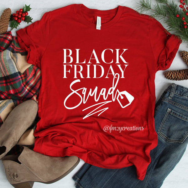 Black Friday Squad Shirt