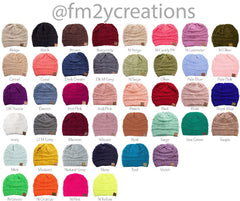 Youth Personalized CC Beanie