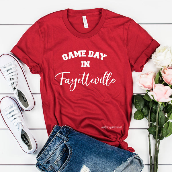 Game Day in Fayetteville Shirt