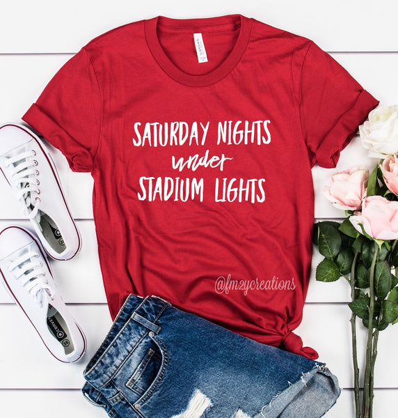 Saturday Nights Under Stadium Lights Shirt