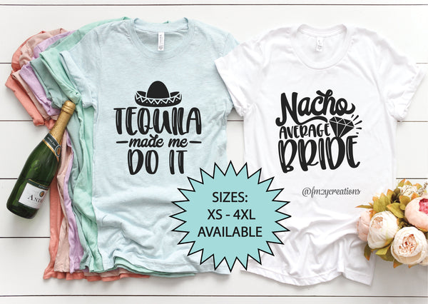 Mexico Bachelorette Party Shirt (Pick Your Design)