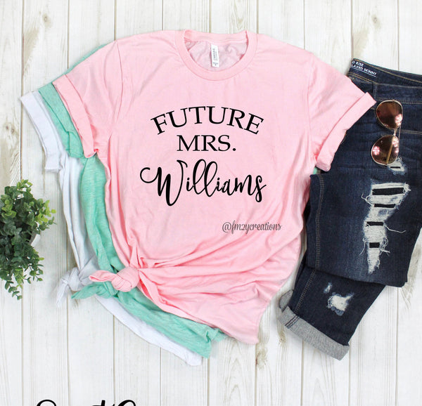 Arched Future Mrs Shirt