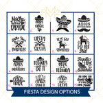 Fiesta Bachelorette Cooler (Choose Your Design)