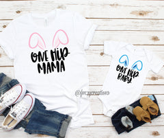 Mommy and Me Bunny Shirts