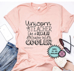 Unicorn Teacher Shirt
