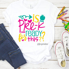 Custom Grade Back To School Shirt