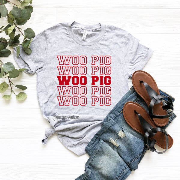 Woo Pig Repeat Shirt