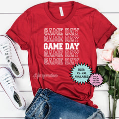 Game Day Repeat Shirt