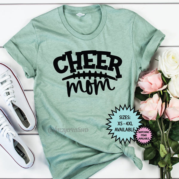 Cheer Mom Football Shirt