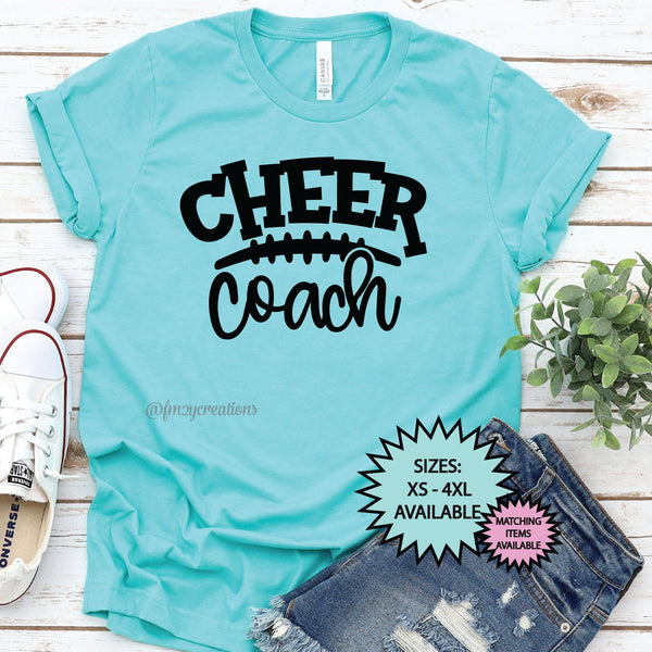 Cheer Coach Football Shirt
