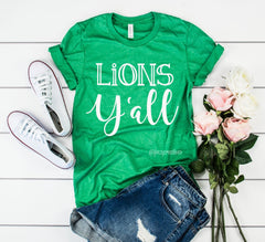 Lions Y'all Shirt