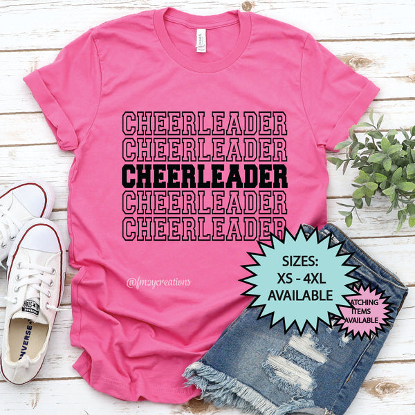 Cheerleader Repeat Shirt