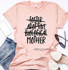 Adoption Day Mom Shirt