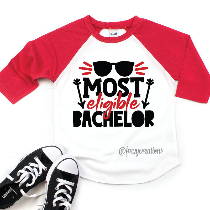 Most Eligible Bachelor Boy Valentine Raglan