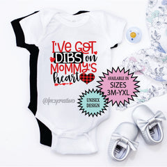 Dibs On Mommy's Heart Shirt