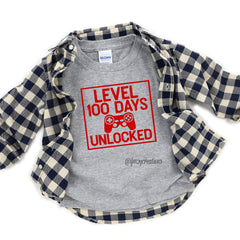100 Days of School Video Game Shirt