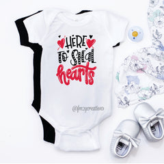 Here To Steal Hearts Shirt