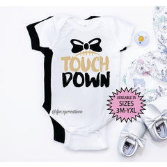 Touch Down Bow Shirt