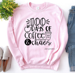100 Days of School Teacher Shirt