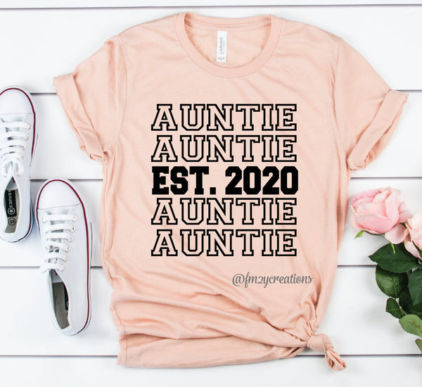 Auntie Established Repeat Shirt