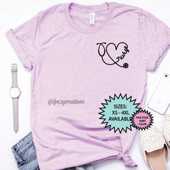 Nurse Stethoscope Heart Shirt
