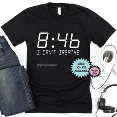 I Can't Breathe Time Shirt