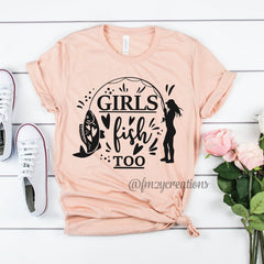 Girls Fish Too Shirt