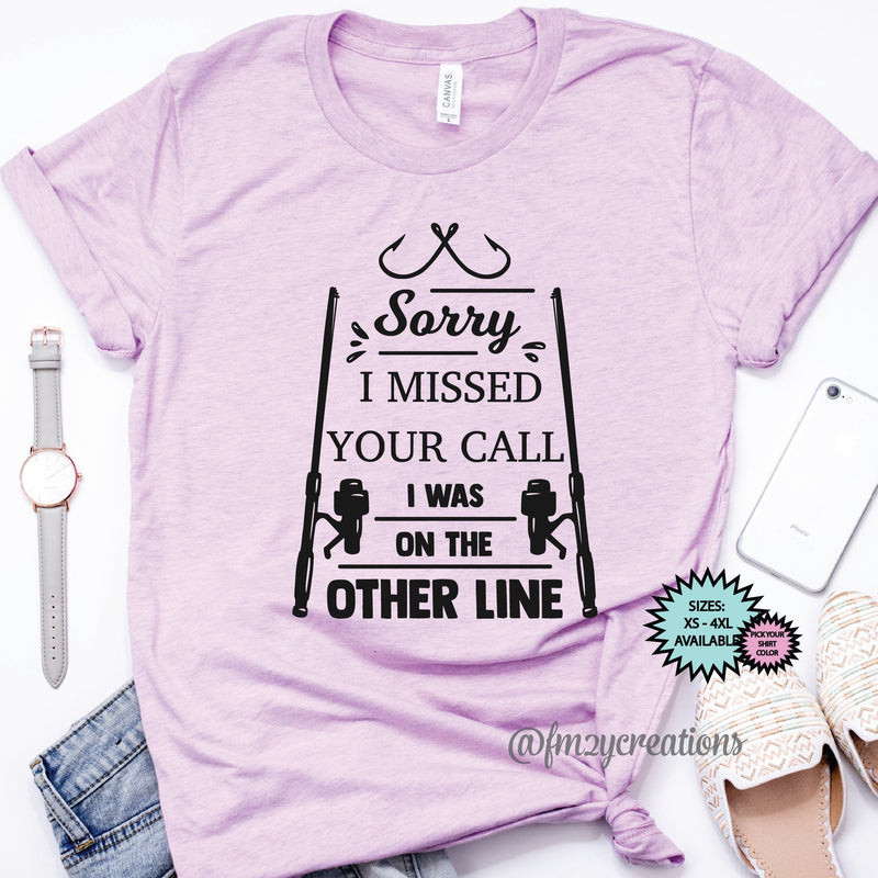 I was on the Other Line Shirt