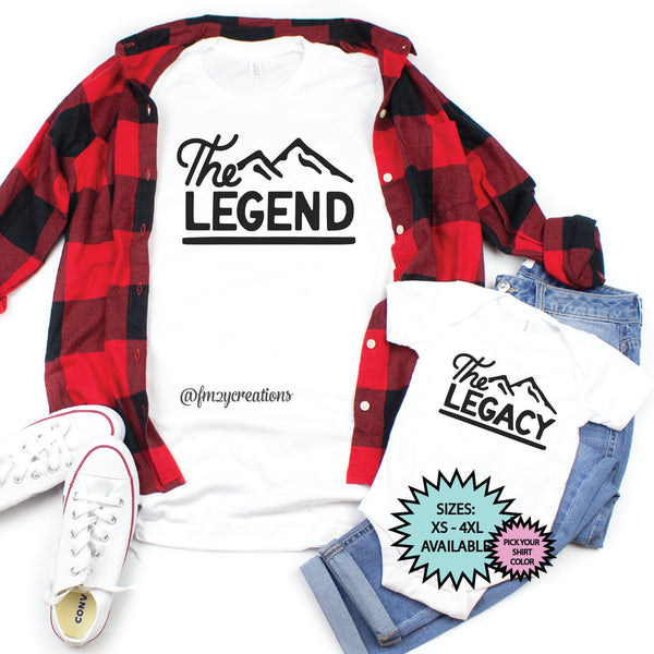 Legend and Legacy Matching Shirts