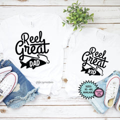 Reel Great Dad | Reel Great Kid Fishing Shirts