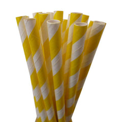 CHEVRON FAVOR BAGS: YELLOW - From Me 2 You Creations