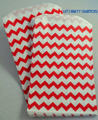 STRIPE PAPER STRAWS: Red (Dark) - From Me 2 You Creations