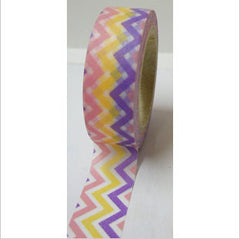 WASHI TAPE: Chevron Pastel - From Me 2 You Creations