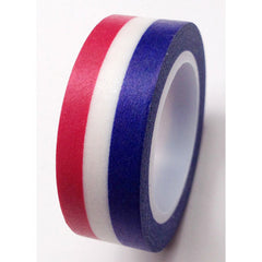 WASHI TAPE: STRIPE Red|White|Blue - From Me 2 You Creations