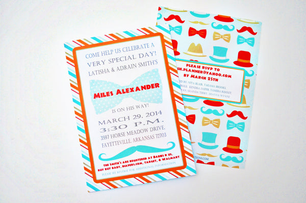INVITATION | Little Gentleman Shower