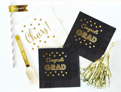 Graduation Party Decorations Graduation Napkins - From Me 2 You Creations