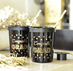 PARTY CUPS PLASTIC: GRADUATION - From Me 2 You Creations