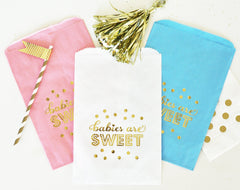 Baby Girl Shower FAVOR BAGS - From Me 2 You Creations