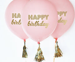 BALLOONS: HAPPY BIRTHDAY | BLACK - From Me 2 You Creations