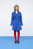 Oversized Royal blue jacket for women