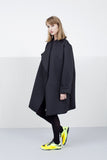 Black Scuba coat for women