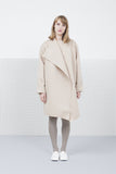 Nude Scuba coat for women