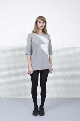 Ziggy Stardust Gray sweatshirt for women